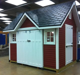 red-garden-shed